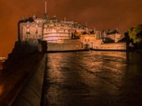 Edinburgh Castle 's avonds